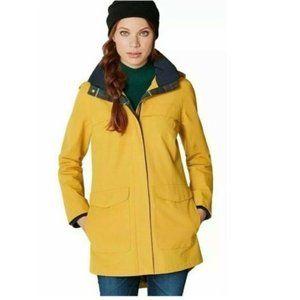 Pendleton Womens Rain Jacket Hi-Low Shirttail Coat